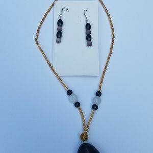 Jewelry - Handmade earring and necklace set